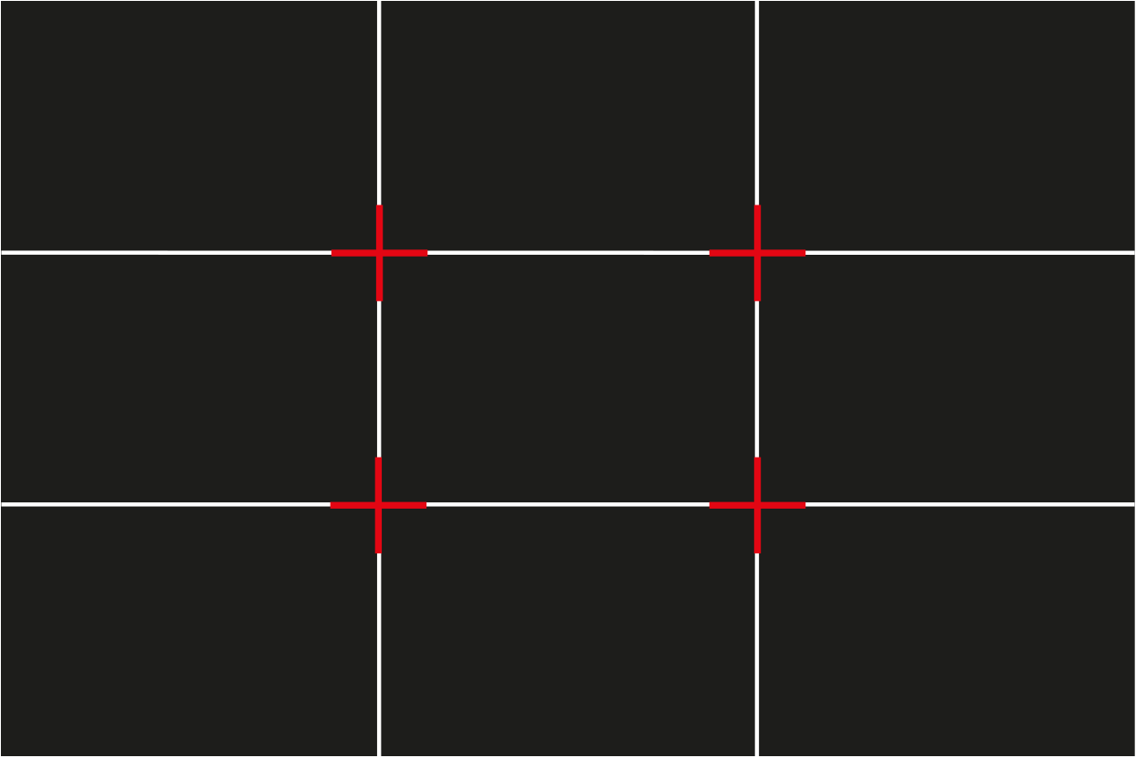 Rule Of Thirds Grid Photophique