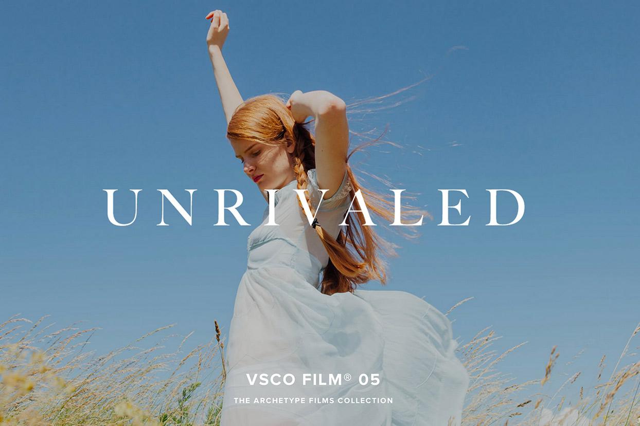 VSCO Film 05 released   Photophique