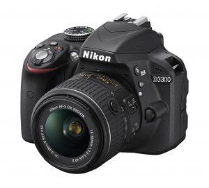 Nikon 3300 camera