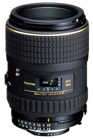 tokina at x 100mm lens