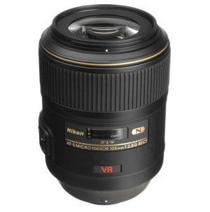 nikon af-s nikkor 105mm lens