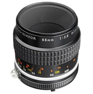 nikon macro 55mm lens for dslr