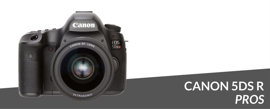 canon 5ds r pros