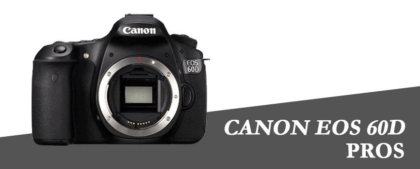 canon 60d pros