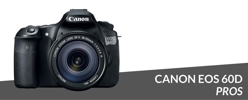 canon eos 60d pros