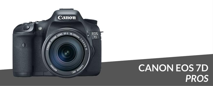 canon eos 7d pros