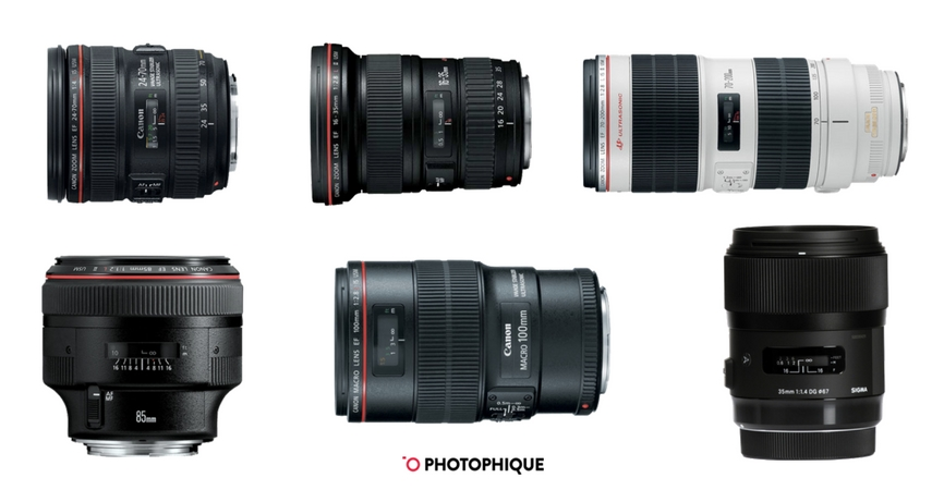 Best Lenses for Canon 5D Mark IV | 2018\'s Standard, Prime & Macro