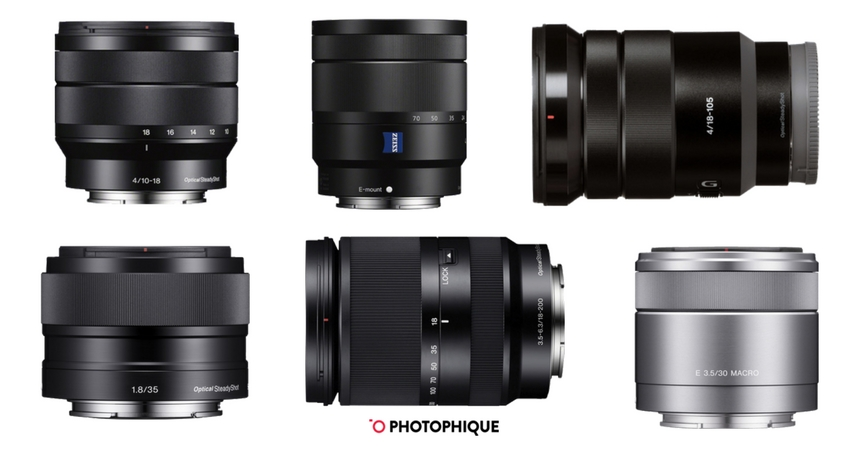6 Best Lenses For Sony A6000