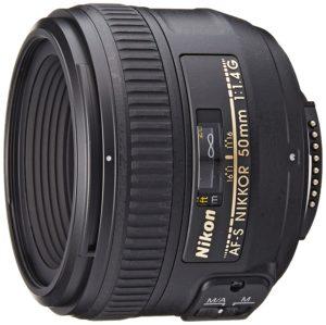 nikon nikkor 50mm f1.4g prime lens