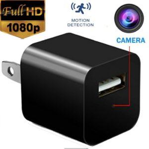 spy vision usb charger hidden spy camera