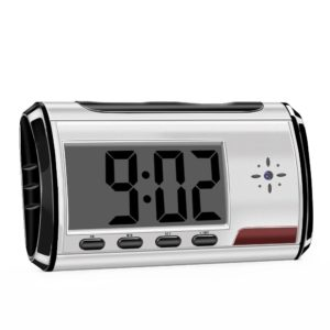 meauotou hidden spy camera alarm clock