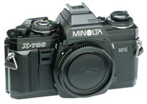 minolta x-700 35mm slr