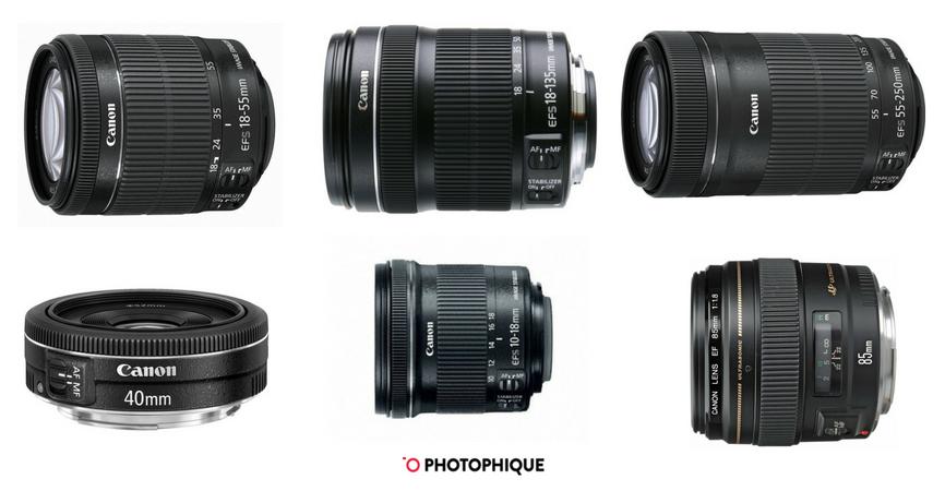 best lenses canon rebel t5i