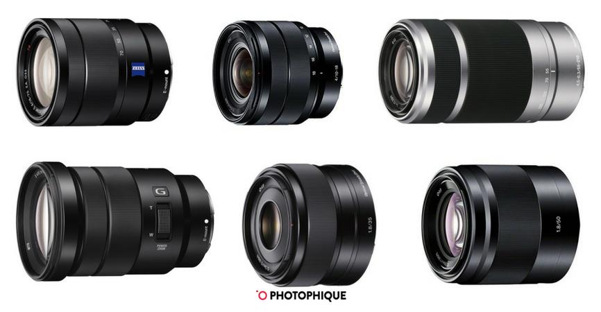 best sony e mount lenses