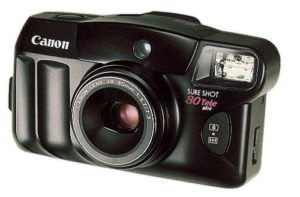 canon sure shot tele 80 35mm compact