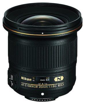 nikon af s fx nikkor 20mm f1.8g ed