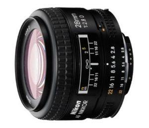 nikon af fx nikkor 28mm f2.8d