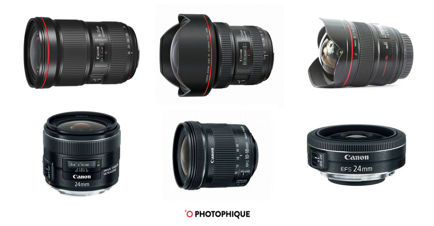 12 Best Canon Wide Angle Lenses: 2019's Review (w/ Sigma