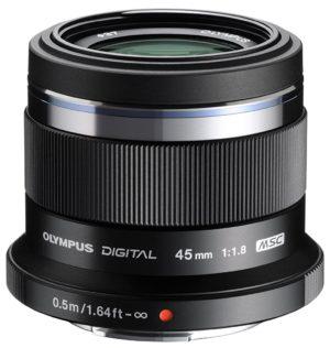 olympus m- zuiko digital ed 45mm f1.8 lens