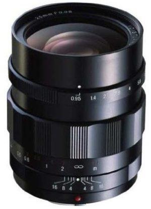 voigtlander 25mm f0.95 aspherical lens