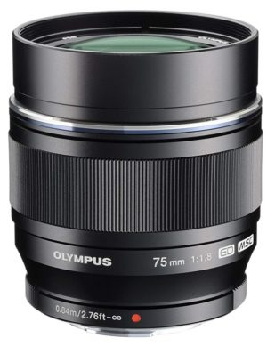 olympus m zuiko digital ed 75mm f1.8 lens