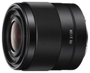 sony sel28f20 fe 28mm f2-22 prime