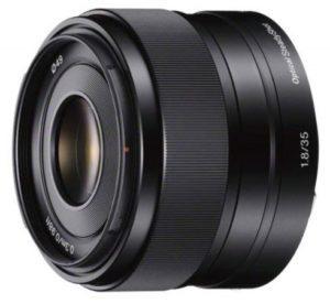 Sony SEL35F18 35mm f/1.8 OSS Prime Lens