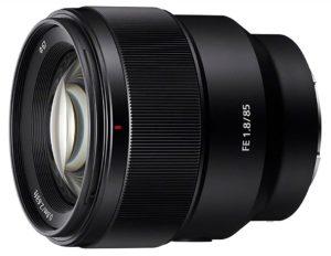 Sony SEL85F18 85mm F/1.8-22 Lens