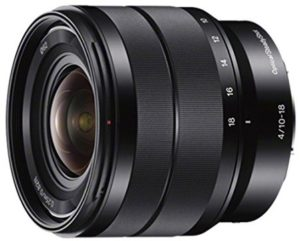 sony sel1018 10-18mm zoom lens
