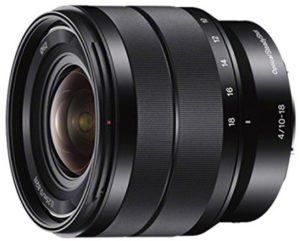 sony sel1018 10-18mm zoom lens