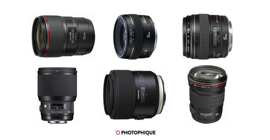 best canon portrait lenses