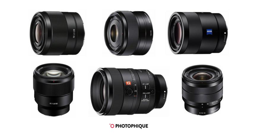 best sony lenses