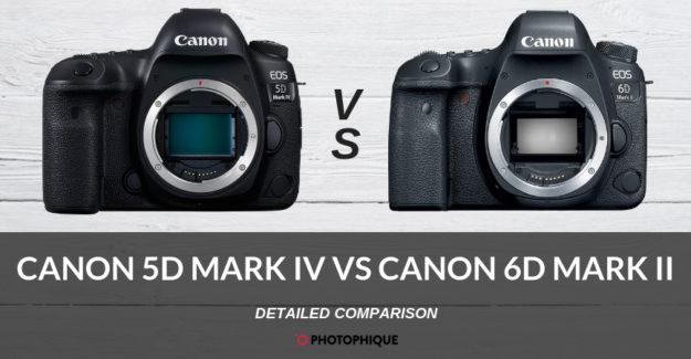Canon 5D Mark IV vs Canon 6D Mark II
