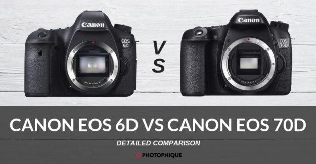 Canon EOS 6D vs Canon EOS 70D