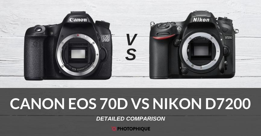 Canon EOS 70D vs Nikon D7200