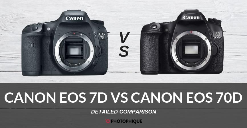 Canon EOS 7D vs Canon EOS 70D