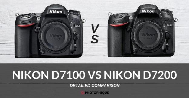 Nikon D7100 vs Nikon D7200