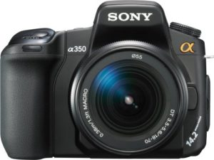 sony alpha dslr a350