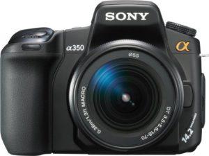 sony alpha dslr a350