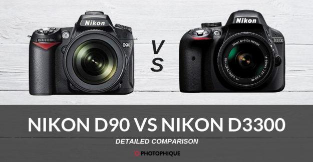 Nikon D90 vs Nikon D3300