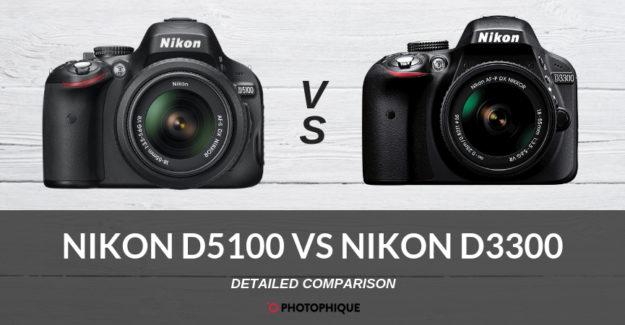 Nikon D5100 vs Nikon D3300