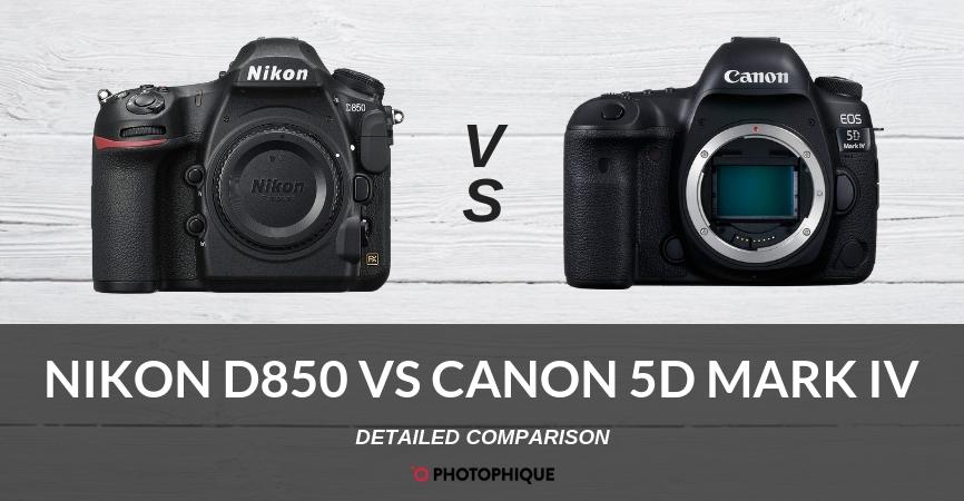 Nikon D850 vs Canon 5D Mark IV