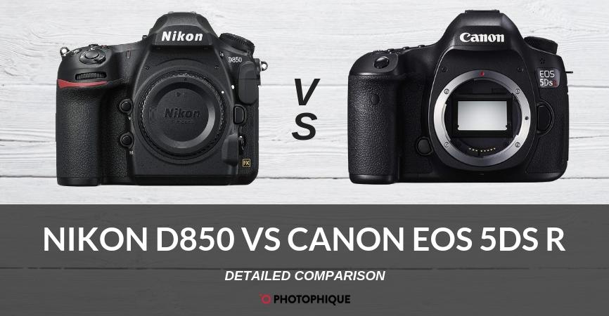 Nikon D850 vs Canon EOS 5DSR