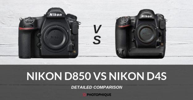 Nikon D850 vs Nikon D4S