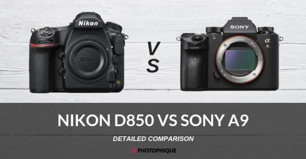 Nikon D850 vs Sony A9