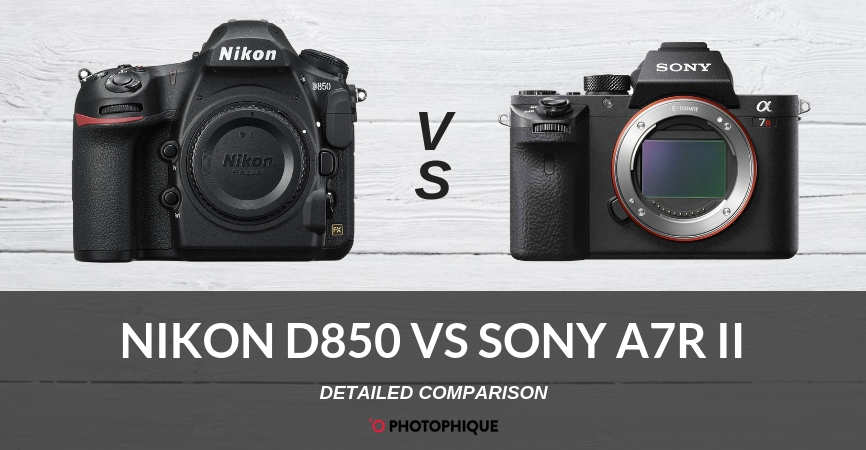 Nikon D850 vs Sony a7R II