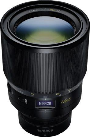 nikkor z 58mm f0.95 s noct