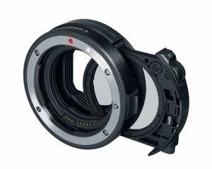 canon drop in filter mount adapter ef eos r with nd filter or with cp filter