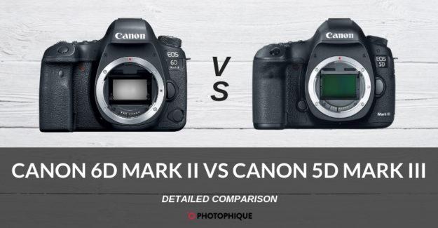 Canon 6D Mark II vs Canon 5D Mark III