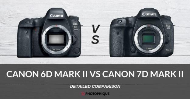 Canon 6D Mark II vs Canon 7D Mark II